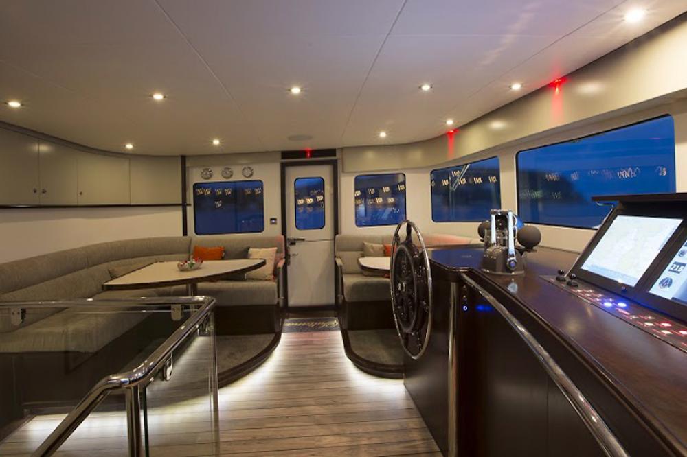 SULTANA - Luxury Motor Yacht For Charter - BRIDGE  - Img 2   C&N