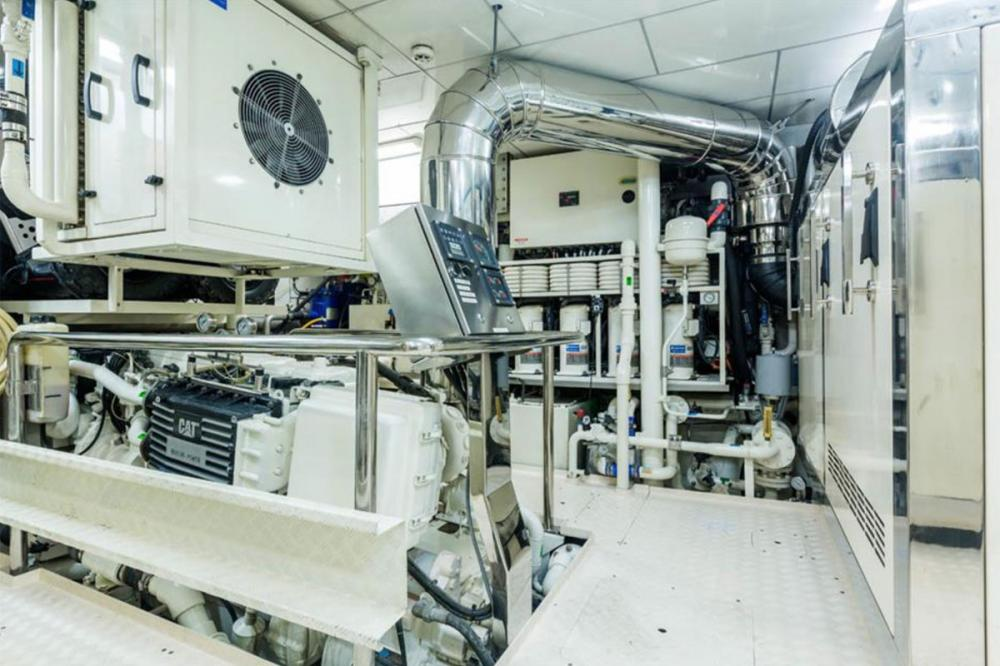 ZEEPAARD - Luxury Motor Yacht For Sale - ENGINE ROOM - Img 2 | C&N