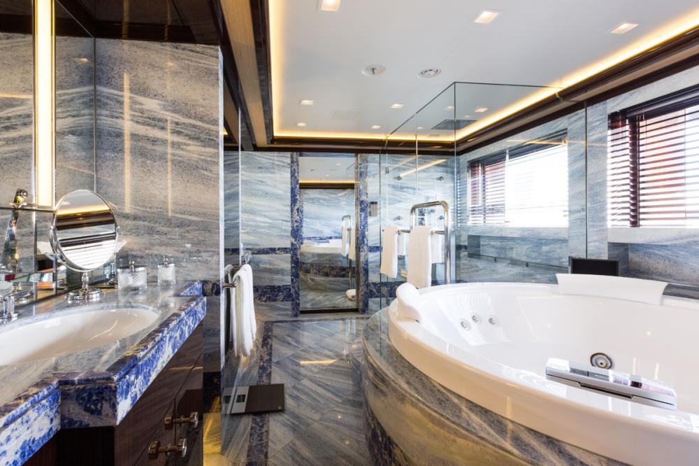 AXIOMA - Luxury Motor Yacht For Charter - 1 MASTER CABIN - Img 3 | C&N