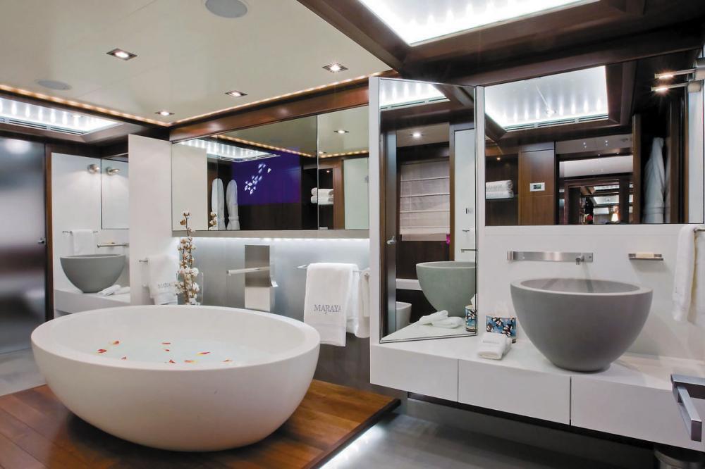 MARAYA - Luxury Motor Yacht For Charter - 1 MASTER CABIN - Img 3 | C&N