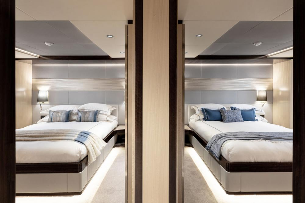 ONEWORLD - Luxury Motor Yacht For Charter - 1 MASTER CABIN   2 DOUBLE CABINS   2 TWIN CABINS - Img 2   C&N