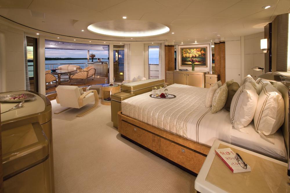 SYCARA V - Luxury Motor Yacht For Charter - 1 MASTER CABIN - Img 1   C&N