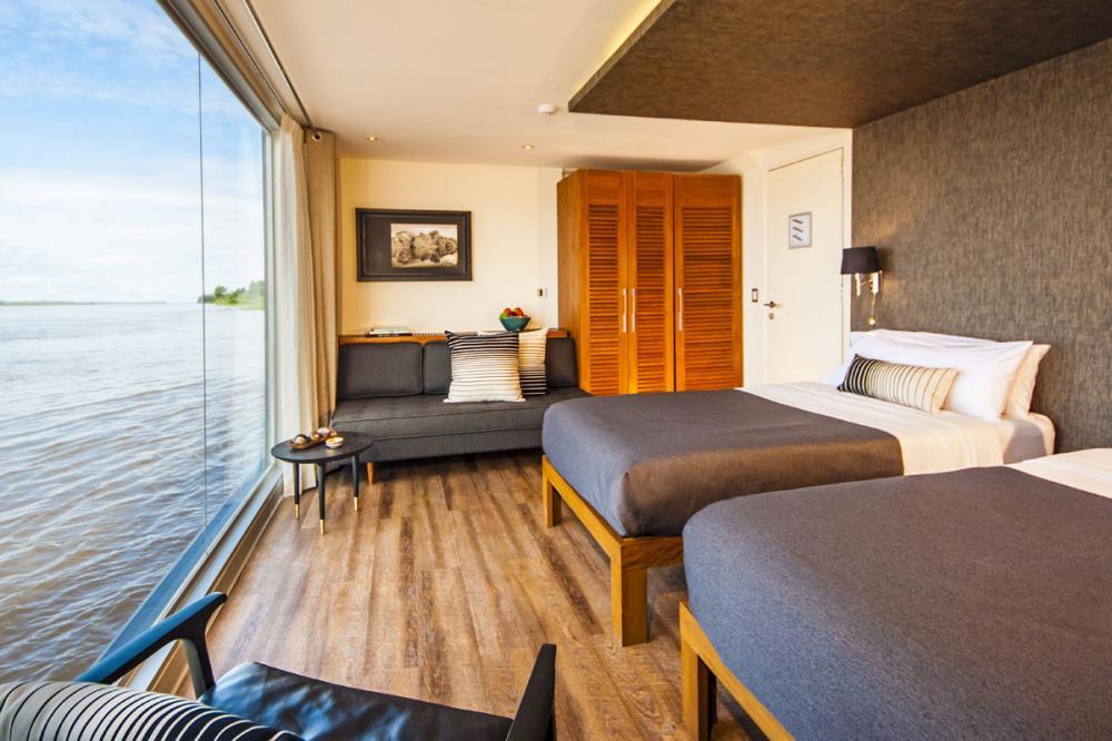 ARIA AMAZON - Luxury Motor Yacht For Charter - TWIN SETUP - Img 1   C&N