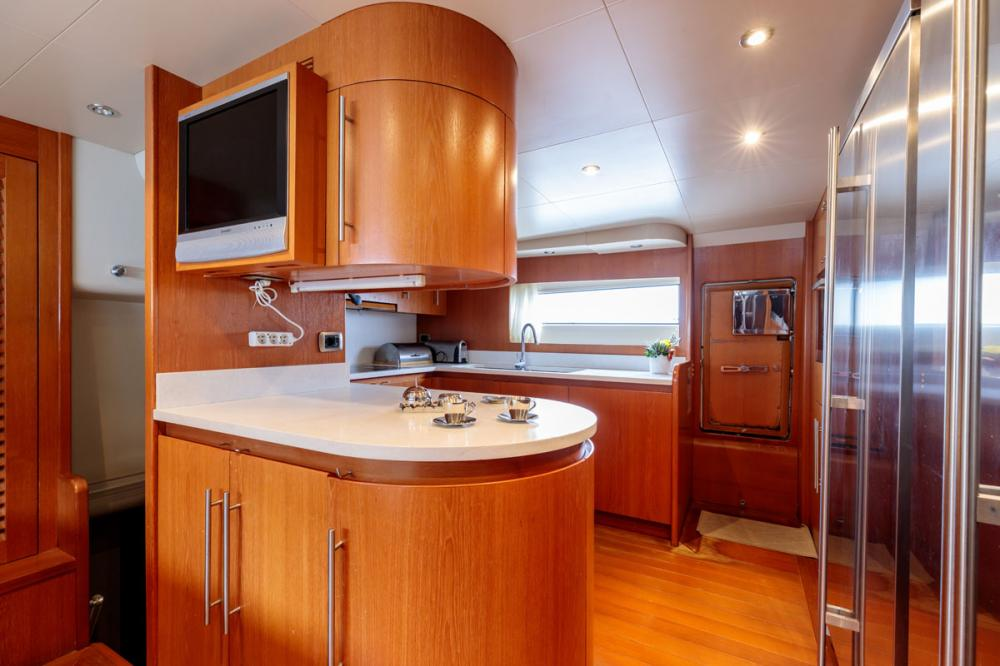 OVAL - Luxury Motor Yacht For Sale - GALLEY - Img 1   C&N