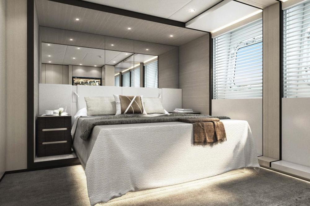 AQUAMARINE - Luxury Motor Yacht For Sale - Two double guest cabins and two twin guest cabins - Img 1 | C&N