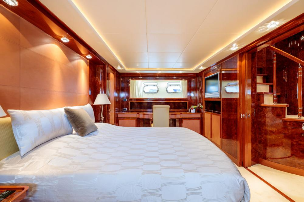 OVAL - Luxury Motor Yacht For Sale - 1 MASTER CABIN - Img 3   C&N