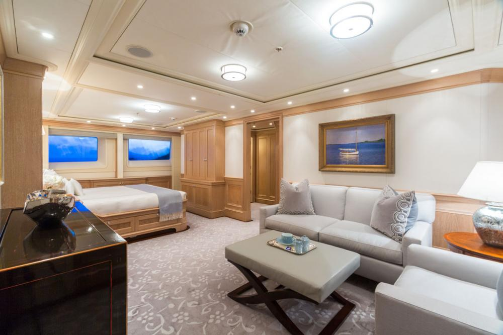 Fabulous Character - Luxury Motor Yacht For Charter - 1 MASTER SUITE - Img 2   C&N