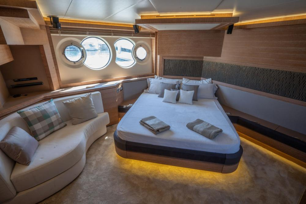 Beethoven - Luxury Motor Yacht For Sale - 1 MASTER CABIN - Img 1 | C&N