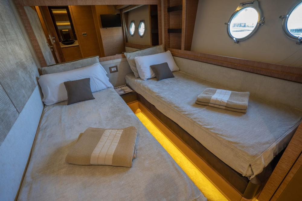 Beethoven - Luxury Motor Yacht For Sale - 1 DOUBLE CABIN/ 1 TWIN CABIN - Img 3 | C&N
