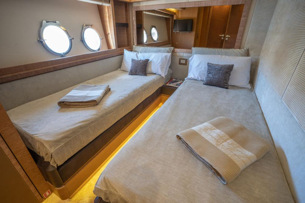 Beethoven - Luxury Motor Yacht For Sale - 1 DOUBLE CABIN/ 1 TWIN CABIN - Img 4 | C&N