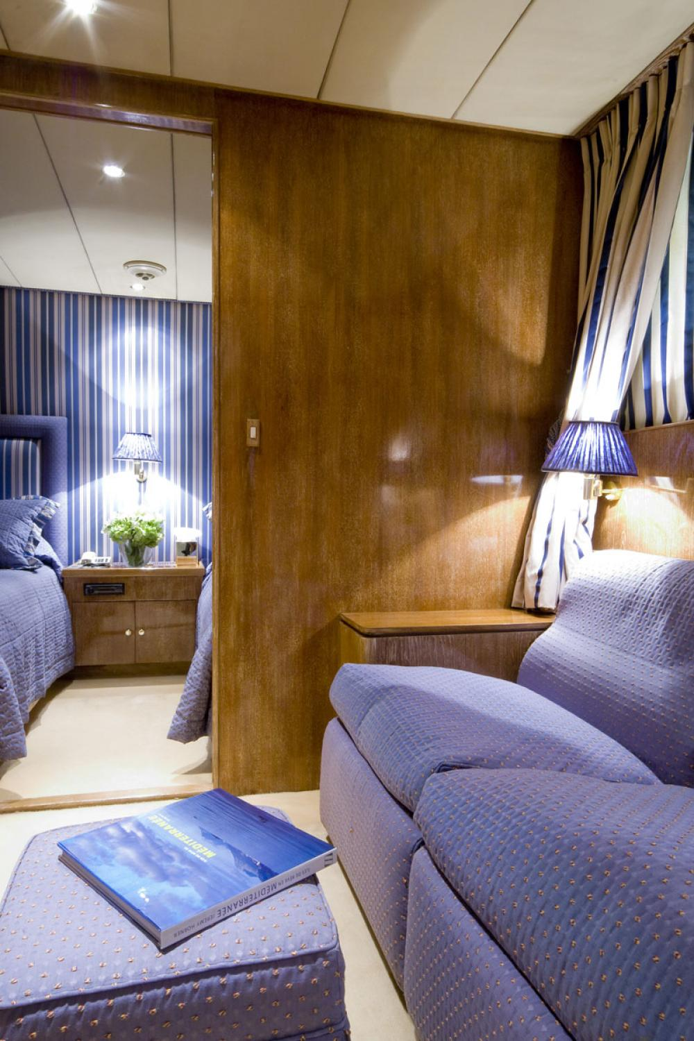 Whispers - Luxury Motor Yacht For Sale - 1 TWIN CABIN - Img 2 | C&N