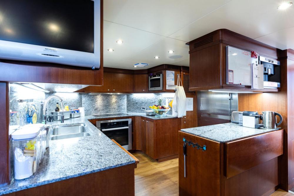 SEABLUE'Z - Luxury Motor Yacht For Charter - GALLEY - Img 1 | C&N