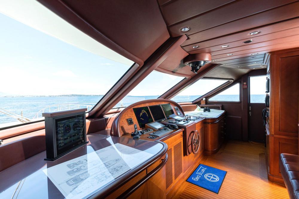 SEABLUE'Z - Luxury Motor Yacht For Charter - BRIDGE - Img 1 | C&N