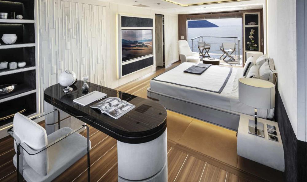 Project Portofino - Luxury Motor Yacht For Sale - 1 MASTER CABIN - Img 1 | C&N