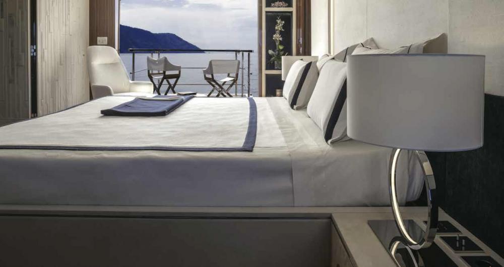 Project Portofino - Luxury Motor Yacht For Sale - 1 MASTER CABIN - Img 2 | C&N