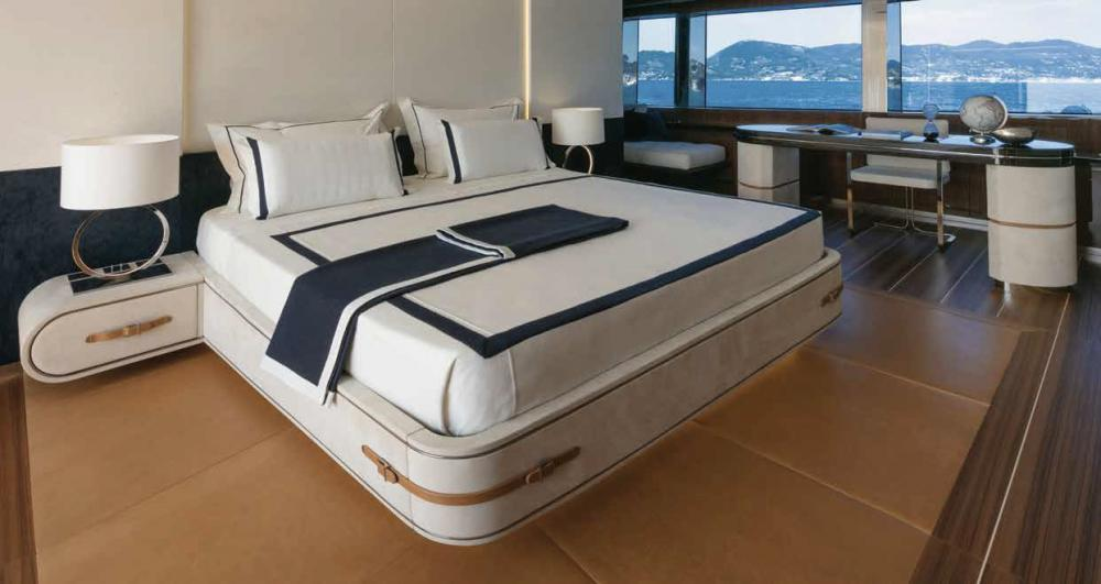 Project Portofino - Luxury Motor Yacht For Sale - 1 MASTER CABIN - Img 3 | C&N