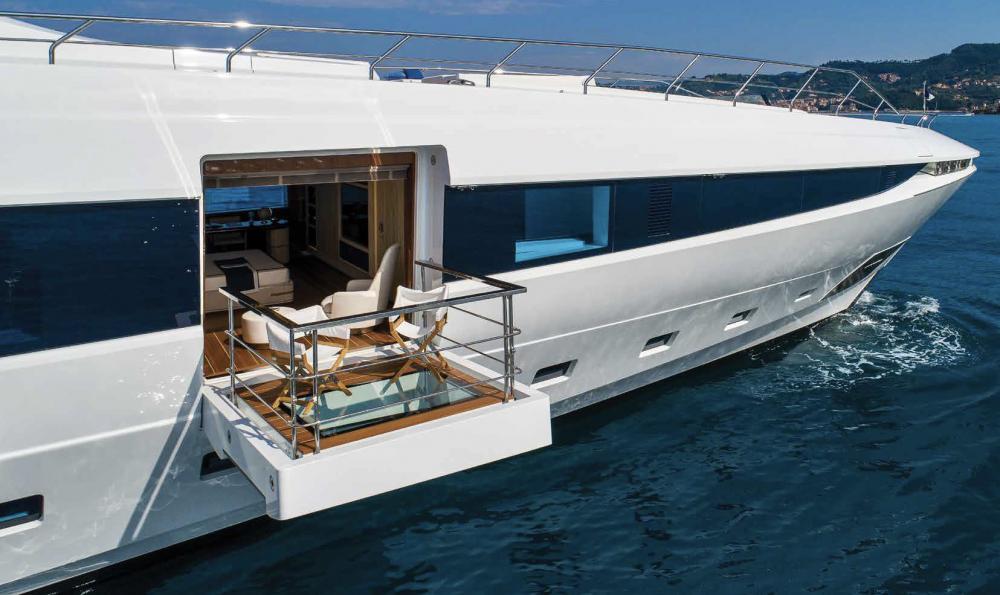 Project Portofino - Luxury Motor Yacht For Sale - 1 MASTER CABIN - Img 5 | C&N