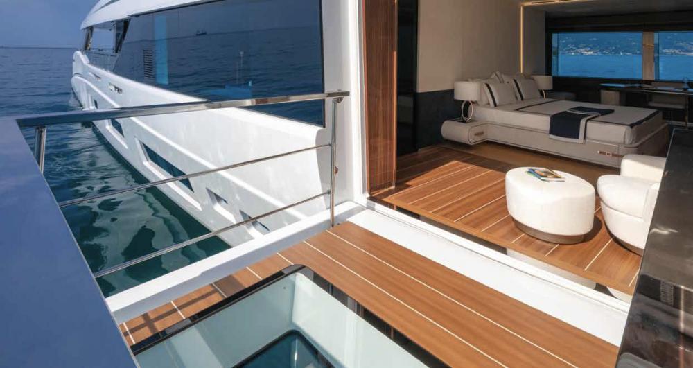 Project Portofino - Luxury Motor Yacht For Sale - 1 MASTER CABIN - Img 6 | C&N
