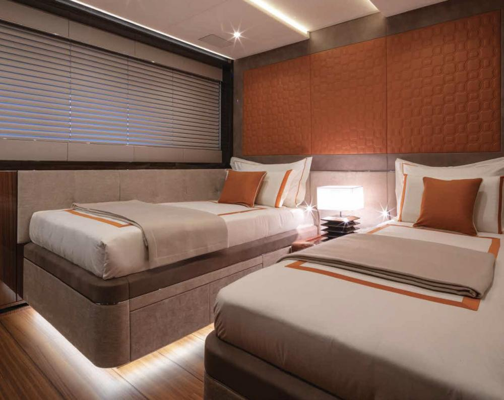 Project Portofino - Luxury Motor Yacht For Sale - 1 TWIN CABIN - Img 1 | C&N