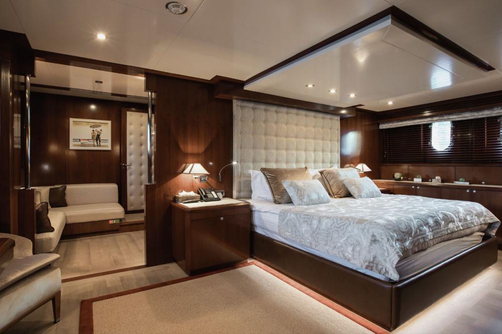 W EXPLORER - Luxury Motor Yacht For Charter - Master Cabin - Img 1   C&N