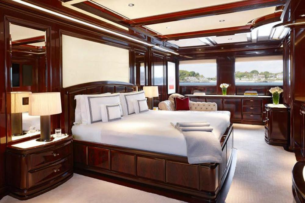 ROCK.IT - Luxury Motor Yacht For Charter - Master Cabin with his and her bathrooms, and with its own dressing room and study - Img 1 | C&N