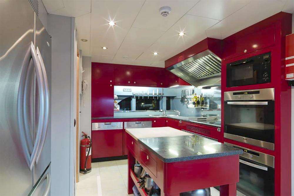 HAPPY LIFE - Luxury Motor Yacht For Sale - GALLEY - Img 1 | C&N