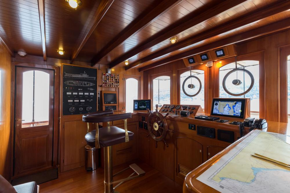 OVER THE RAINBOW - Luxury Motor Yacht For Charter - Pilot House - Img 1   C&N