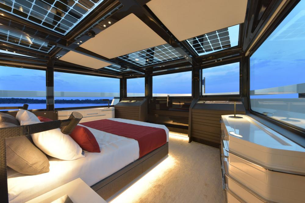ARIA.S - Luxury Motor Yacht For Sale - Owner Cabin - Img 1 | C&N