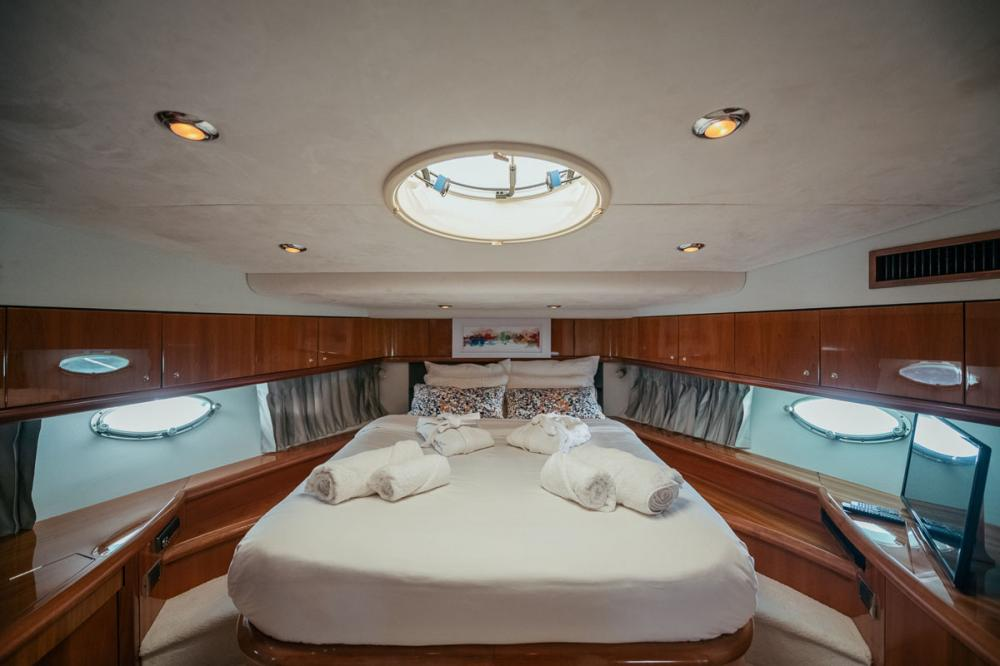 Houri - Luxury Motor Yacht For Sale - Two Double Cabins - Img 1   C&N