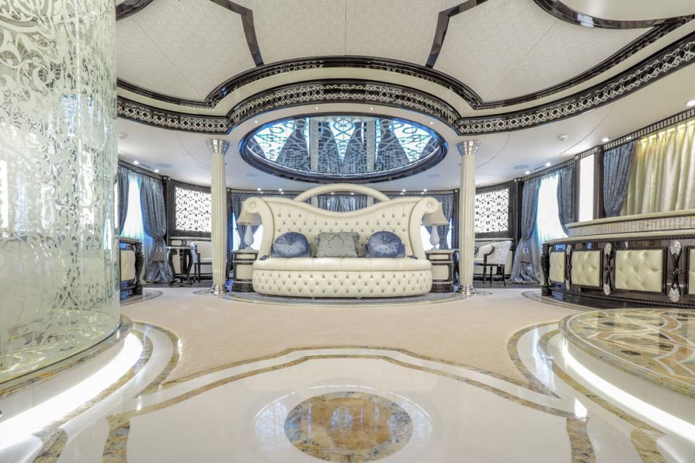 ELEMENTS - Luxury Motor Yacht For Sale - Master Cabin on upper Deck forward - Img 1 | C&N