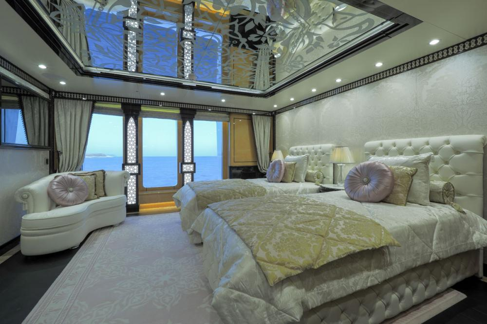 ELEMENTS - Luxury Motor Yacht For Sale - 5 Twin Cabins on main deck forward - Img 1 | C&N