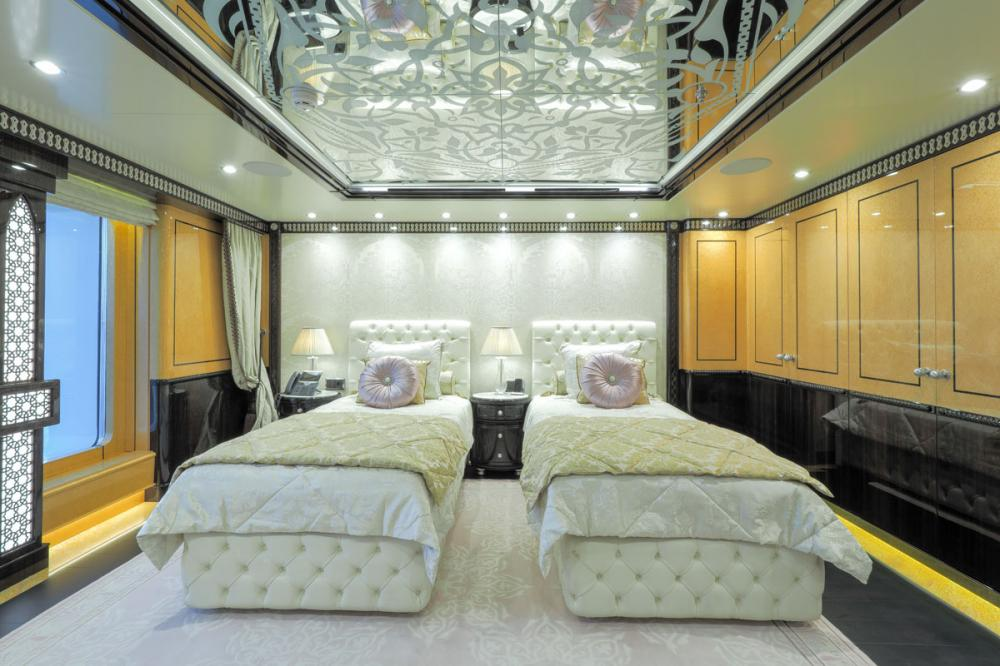 ELEMENTS - Luxury Motor Yacht For Sale - 5 Twin Cabins on main deck forward - Img 2 | C&N