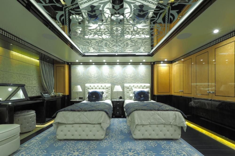 ELEMENTS - Luxury Motor Yacht For Sale - 5 Twin Cabins on main deck forward - Img 5 | C&N