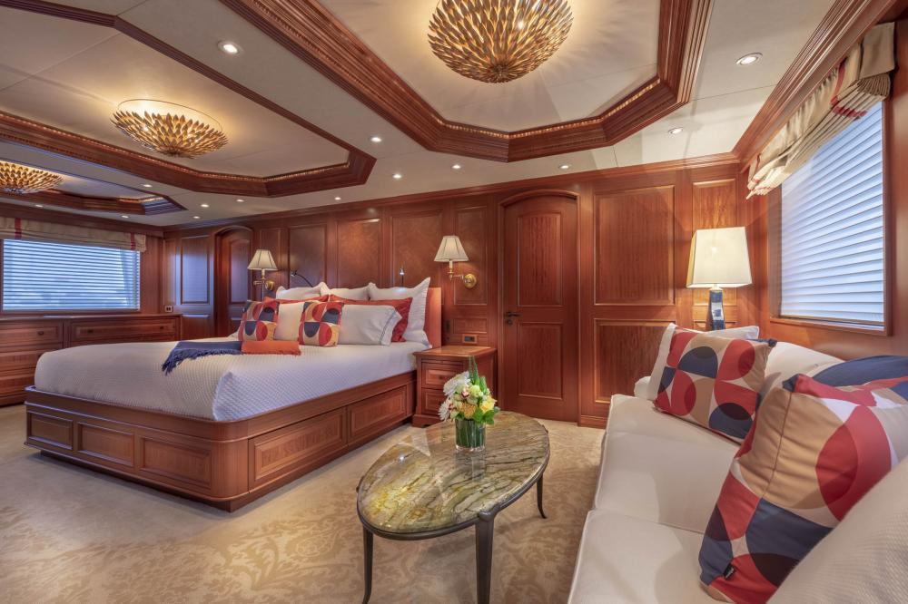 PURE BLISS - Luxury Motor Yacht For Charter - Owner's Stateroom - Img 1   C&N