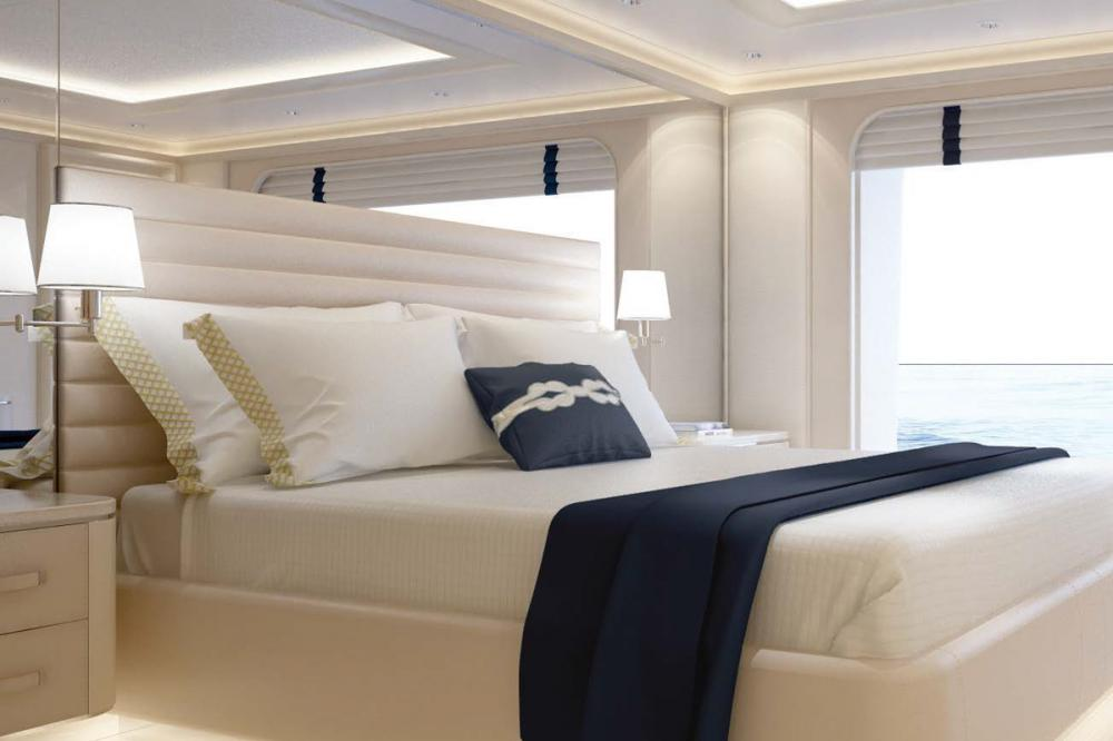 AQUARIUS - Luxury Motor Yacht For Charter - 6 VIP Cabins on the main deck - Img 2   C&N