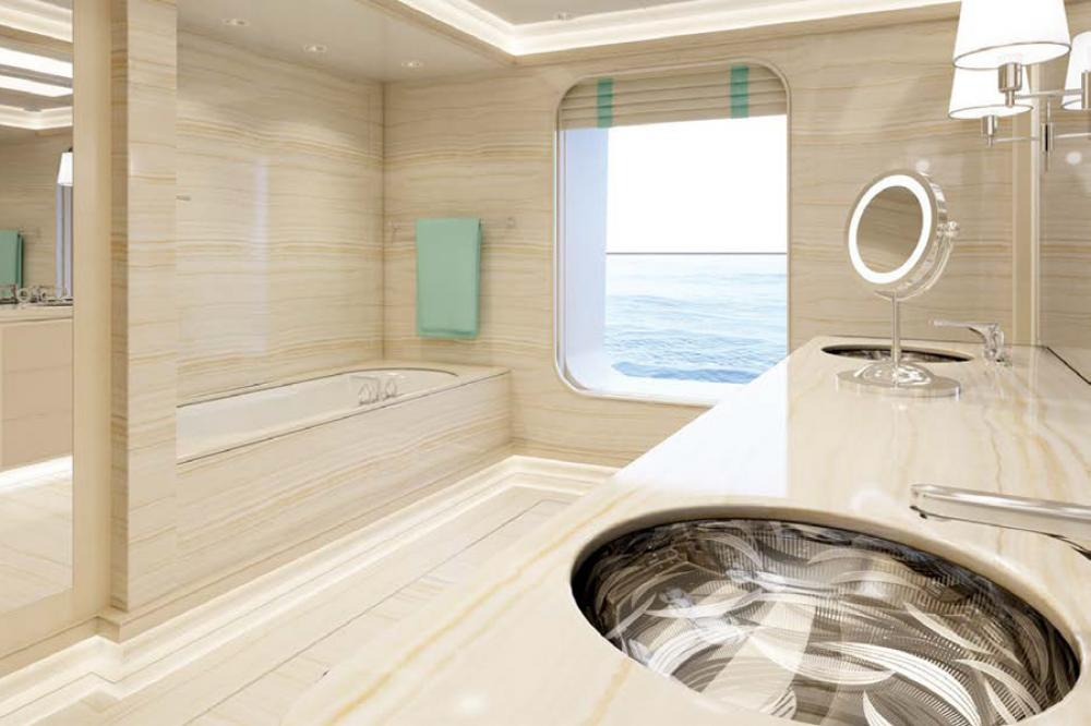 AQUARIUS - Luxury Motor Yacht For Charter - 6 VIP Cabins on the main deck - Img 7   C&N