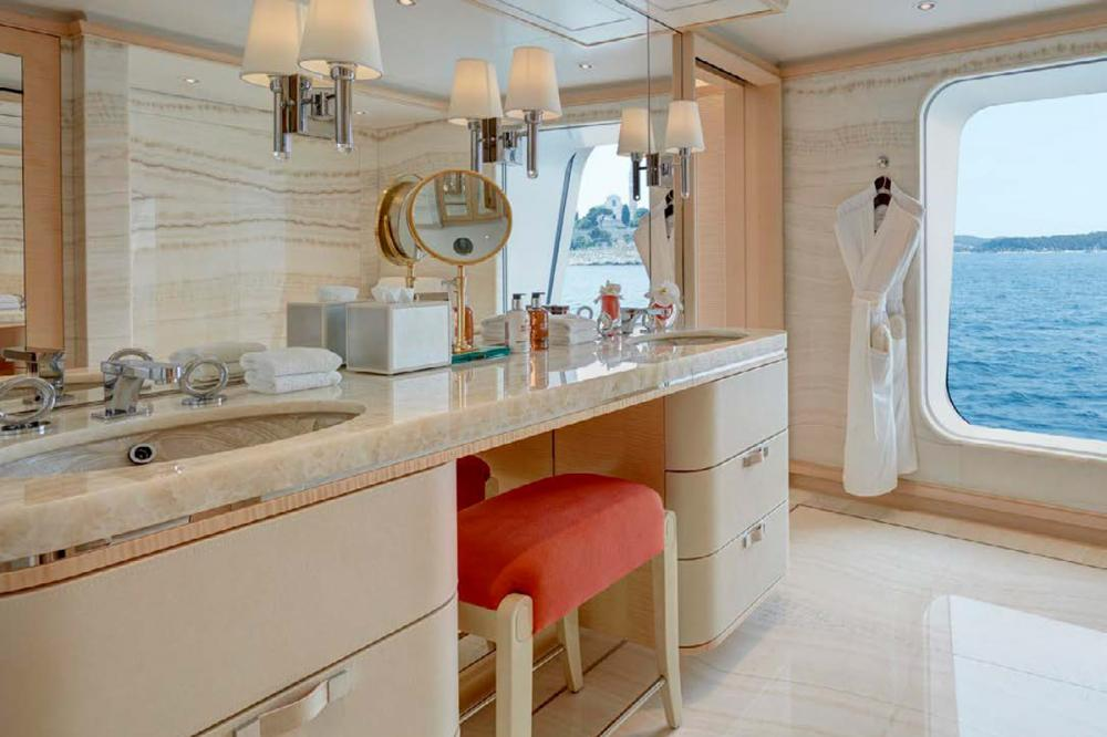 AQUARIUS - Luxury Motor Yacht For Charter - 6 VIP Cabins on the main deck - Img 3   C&N