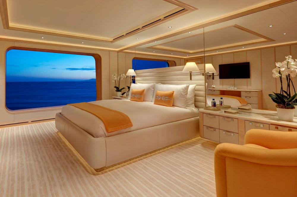 AQUARIUS - Luxury Motor Yacht For Charter - 6 VIP Cabins on the main deck - Img 6   C&N