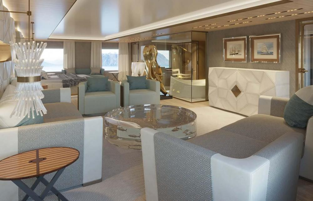 LA DATCHA - Luxury Motor Yacht For Charter - Owner's Cabin - Img 2   C&N