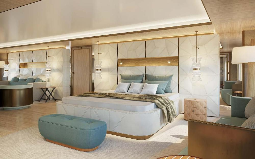 LA DATCHA - Luxury Motor Yacht For Charter - Owner's Cabin - Img 1   C&N