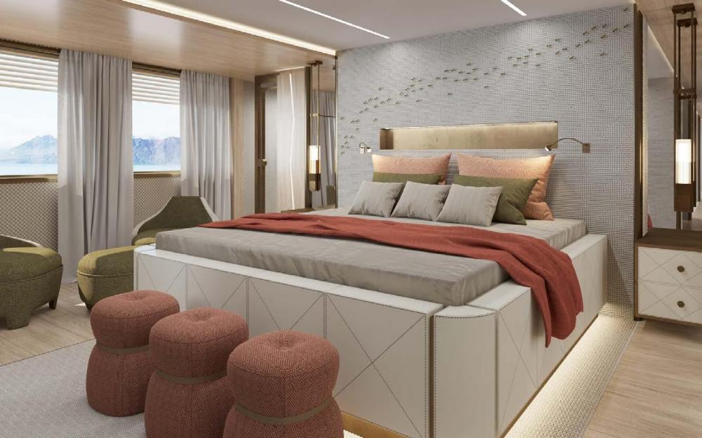 LA DATCHA - Luxury Motor Yacht For Charter - VIP Cabin - Img 1   C&N