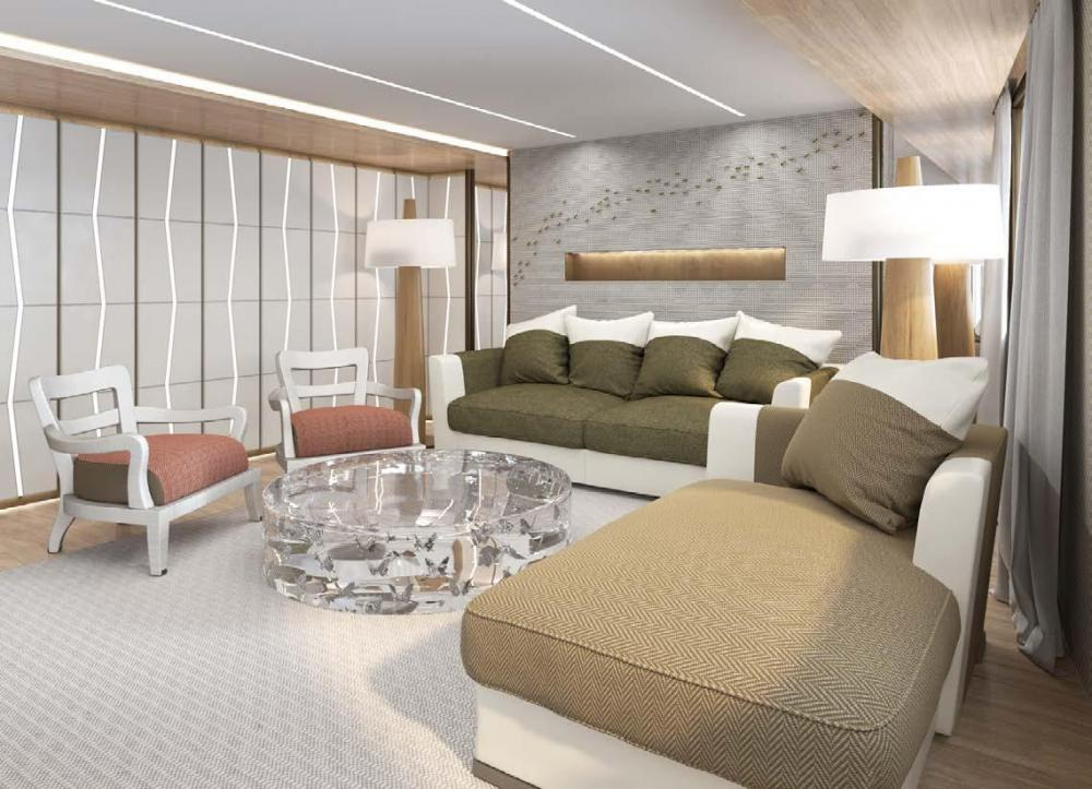 LA DATCHA - Luxury Motor Yacht For Charter - VIP Cabin - Img 2   C&N