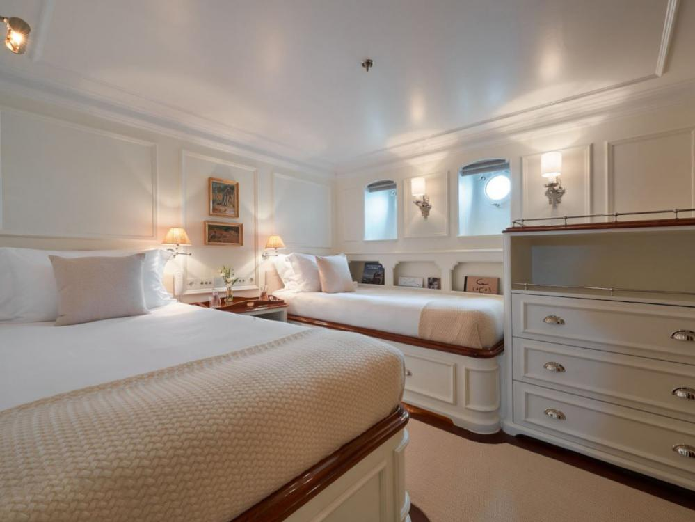 HAIDA 1929 - Luxury Motor Yacht For Charter - Two Twin Cabins - Img 1 | C&N