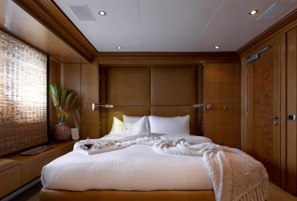 HELIOS - Luxury Motor Yacht For Charter - 4 king cabins with shower bath combinations - Img 2 | C&N