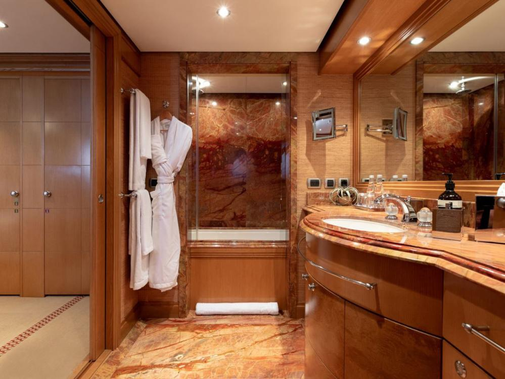 HELIOS - Luxury Motor Yacht For Charter - 4 king cabins with shower bath combinations - Img 4 | C&N