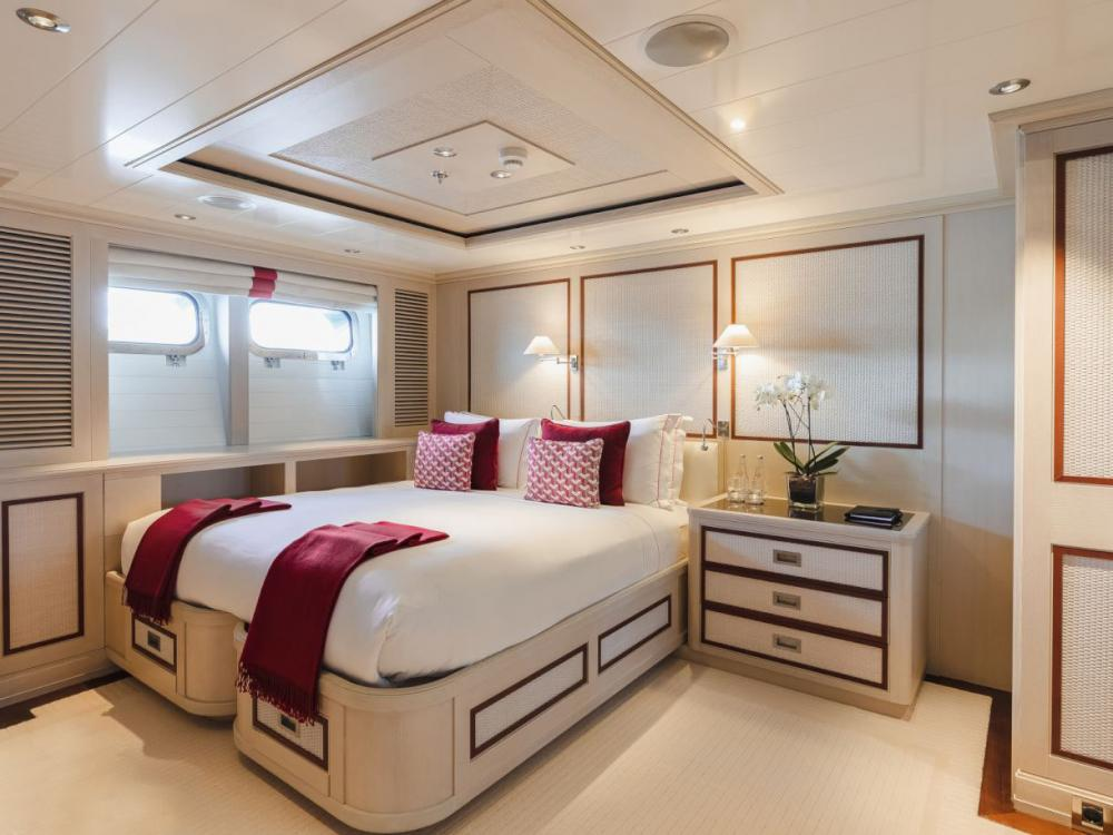 ODESSA - Luxury Motor Yacht For Charter - Two Double Cabins with ensuite bath and shower rooms - Img 1 | C&N