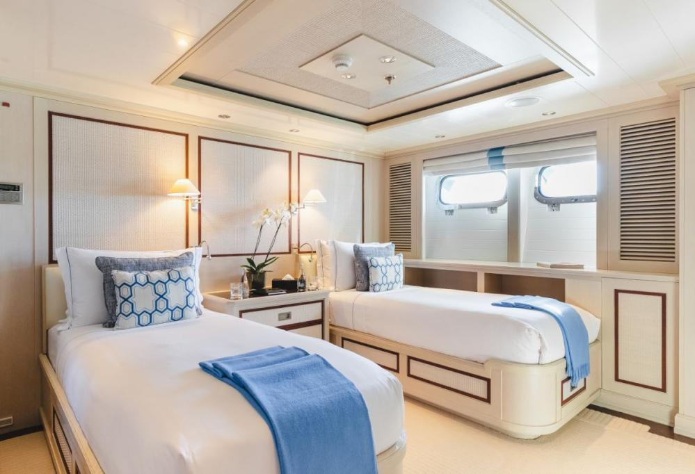 ODESSA - Luxury Motor Yacht For Charter - Two convertible twin cabins - Img 1 | C&N