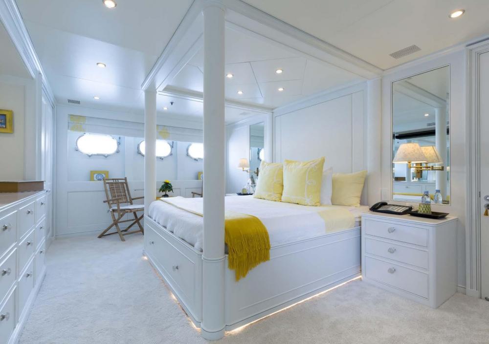 BINA - Luxury Motor Yacht For Charter - VIP Yellow Cabin - Img 1 | C&N