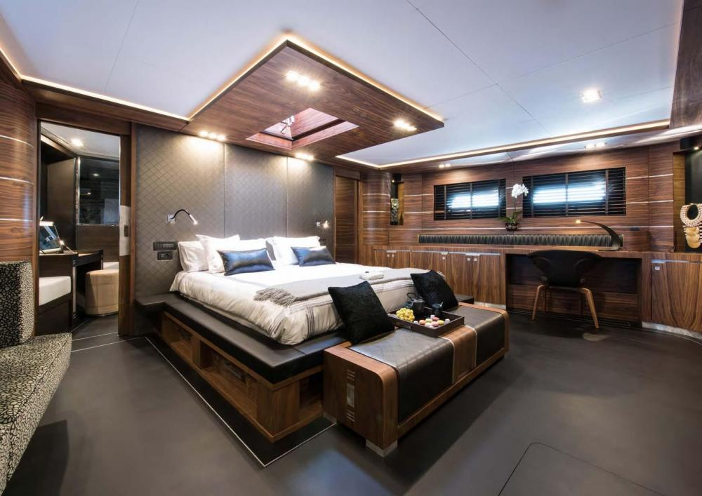 ROX STAR - Luxury Sailing Yacht For Charter - Master Suite - Img 1   C&N