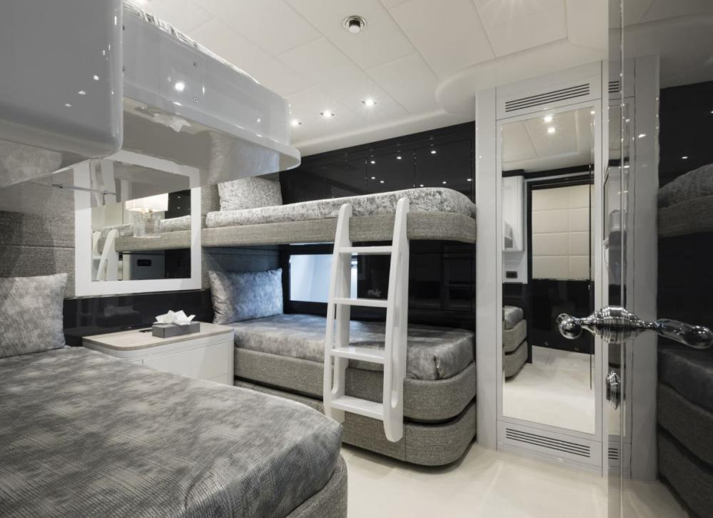 VENI VIDI VICI - Luxury Motor Yacht For Charter - Twin Cabin with additional pullman - Img 1   C&N